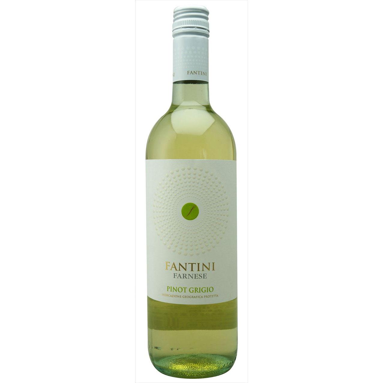 【ラッキーシール対応】お歳暮 ギフト ファンティーニ ピノ グリージョ  ファルネーゼ 白 750ml 12本 イタリア アブルッツォ 白ワイン コンビニ受取対応商品 ヴィンテージ管理しておりません、変わる場合があります