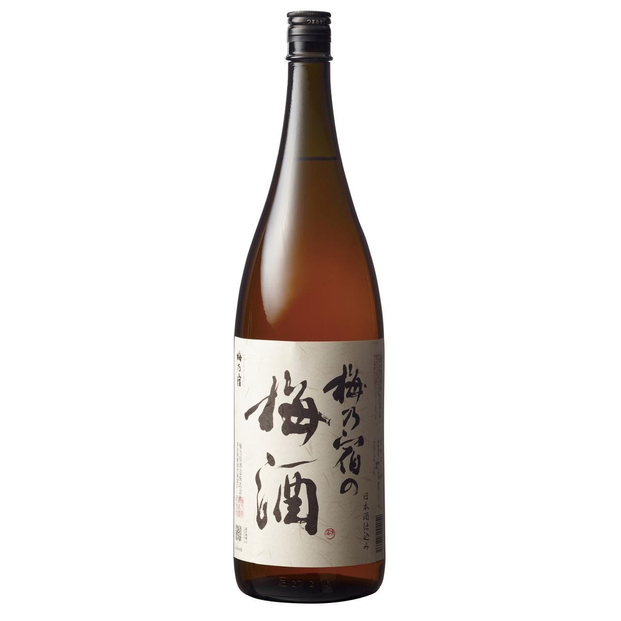 【ラッキーシール対応】お歳暮 ギフト 梅乃宿の梅酒 1.8L  6本 奈良県 梅乃宿酒造 リキュール ケース販売