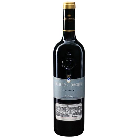 お酒 父の日 ギフト マルケス・デ・ラ・コンコルディア クリアンサ 赤 750ml 12本 スペイン リオハ 赤ワイン コンビニ受取対応商品 ヴィンテージ管理しておりません、変わる場合があります プレゼント ケース販売 送料無料