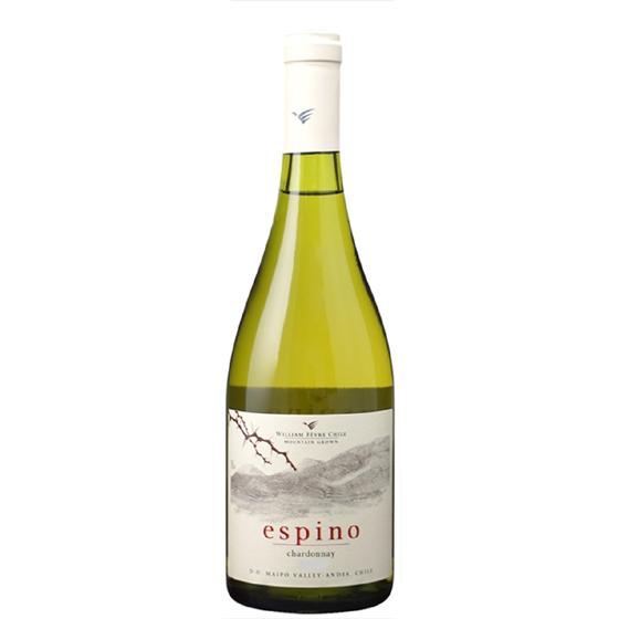 お酒 お中元 ギフト エスピノ シャルドネ / ウィリアム・フェーヴル 白 750ml 12本 チリ マイポ・ヴァレー 白ワイン コンビニ受取対応商品 ヴィンテージ管理しておりません、変わる場合があります プレゼント ケース販売 送料無料