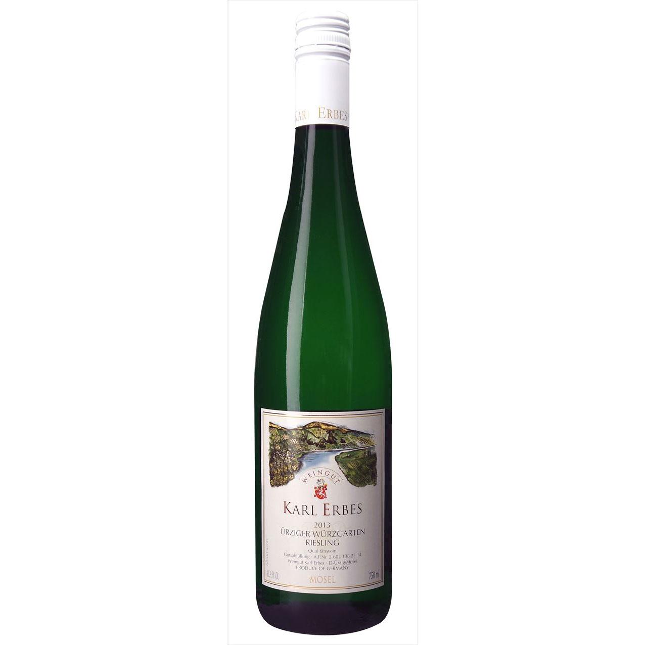 【ラッキーシール対応】母の日 ギフト ユルツィガー ヴュルツガルテン RI カール エルベス 白 750ml 12本 ドイツ モーゼル 白ワイン 送料無料 コンビニ受取対応商品 ヴィンテージ管理しておりません、変わる場合があります