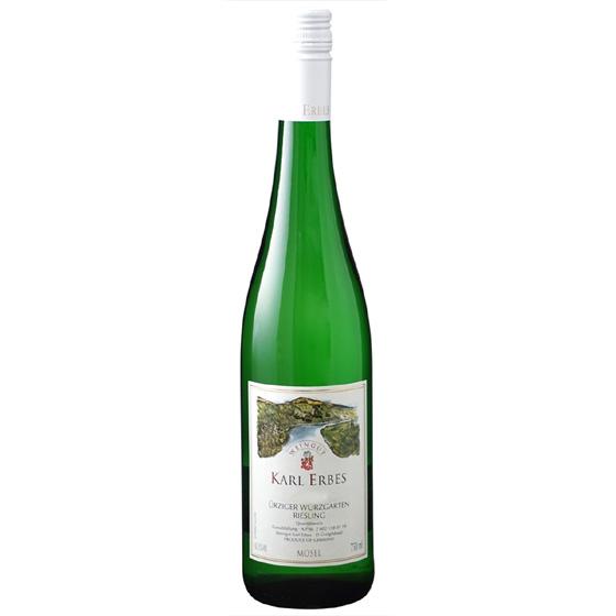 お酒 お中元 ギフト ユルツィガー・ヴュルツガルテン QbA / カール・エルベス 白 甘口 750ml 12本 ドイツ モーゼル 白ワイン コンビニ受取対応商品 ヴィンテージ管理しておりません、変わる場合があります プレゼント ケース販売 送料無料