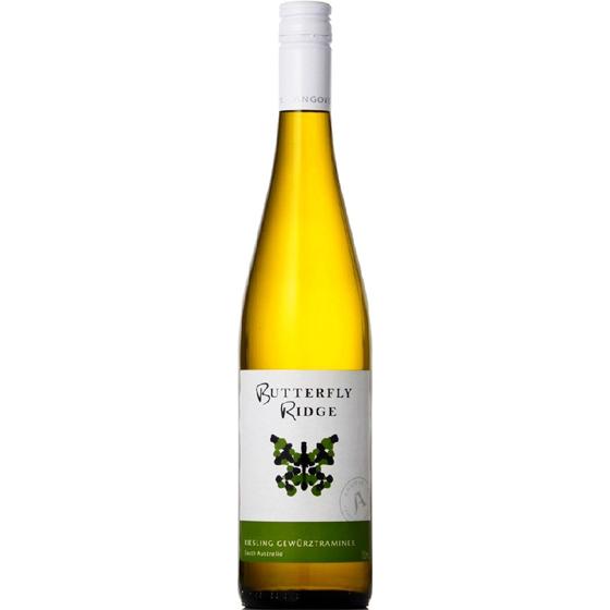 お中元 ギフト バタフライ・リッジ リースリング ゲヴュルツトラミナー / アンゴーヴ 白 750ml 12本 オーストラリア 南オーストラリア 白ワイン コンビニ受取対応商品 ヴィンテージ管理しておりません、変わる場合があります ケース販売