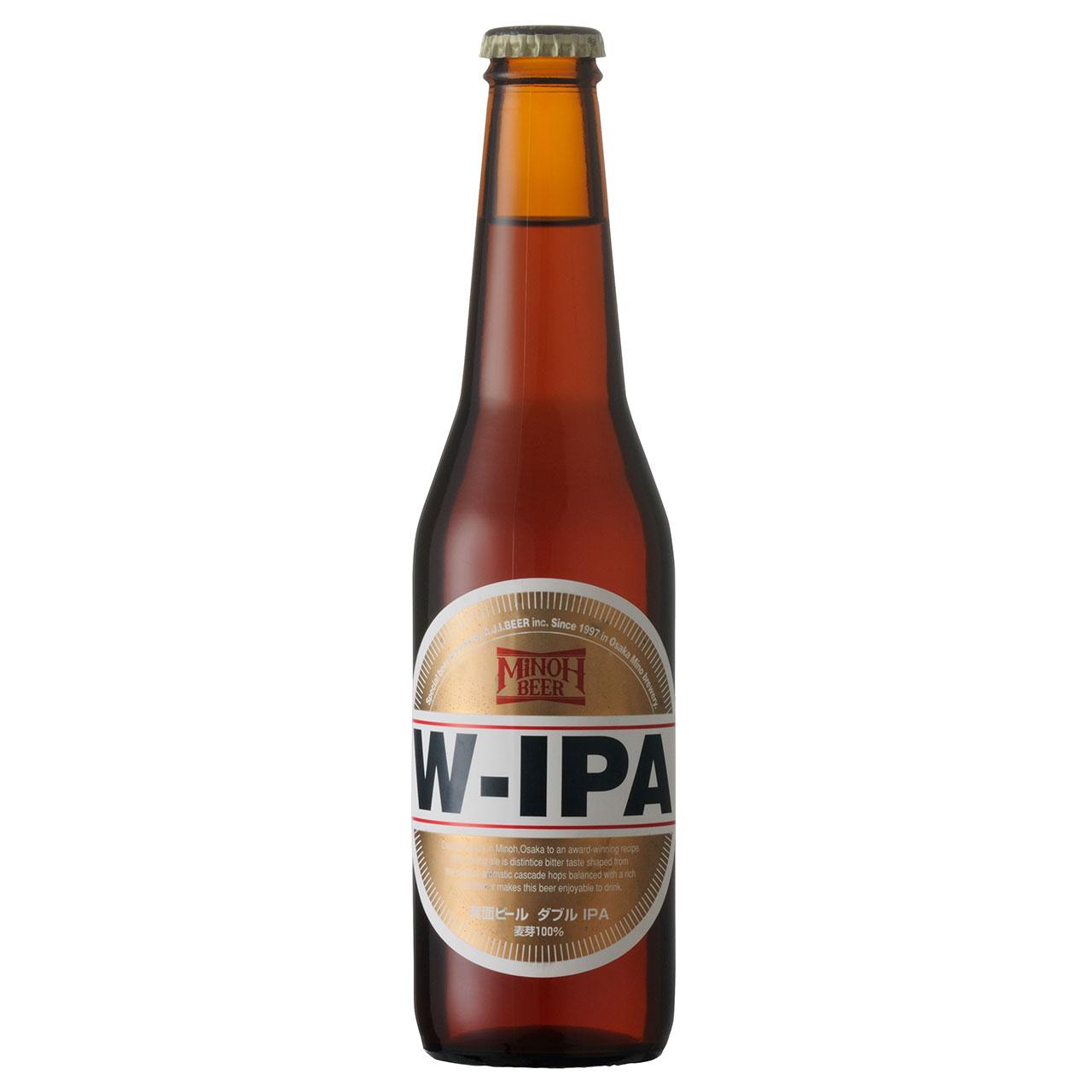 【ラッキーシール対応】お歳暮 ギフト 箕面ビール W-IPA 330ml 24本 大阪府 箕面ブリュワリー クラフトビール ケース販売