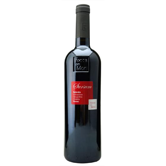 お酒 お中元 ギフト サレント・ロッソ スルサム / ロッカ・デイ・モリ 赤 750ml 12本 イタリア プーリア 赤ワイン コンビニ受取対応商品 ヴィンテージ管理しておりません、変わる場合があります プレゼント ケース販売 送料無料
