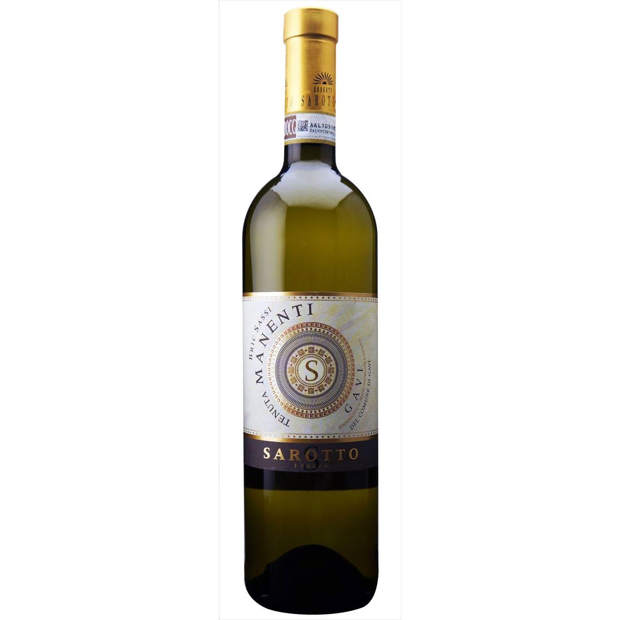 父の日 プレゼント ギフト ガヴィ デル コムーネ ディ ガヴィ ブリク サッシ アジエンダ アグリコーラ ロベルト サロット 白 750ml 12本 イタリア ピエモンテ 白ワイン 送料無料 ヴィンテージ管理しておりません、変わる場合があります ラッキーシール対応