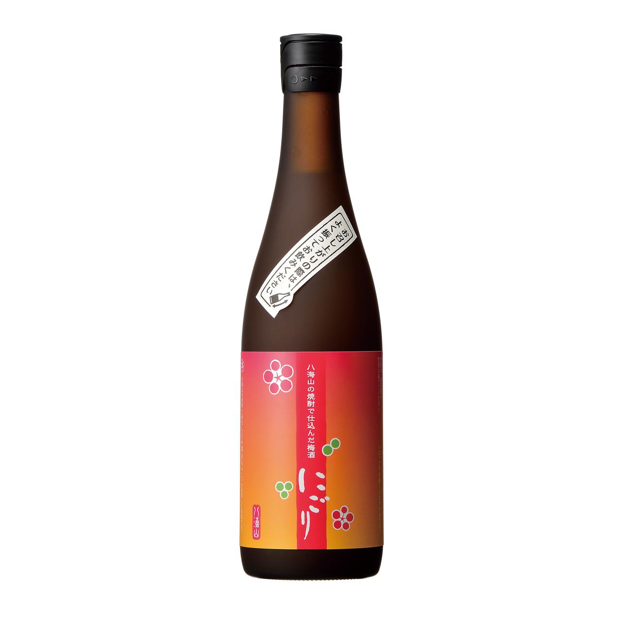 お酒 お中元 ギフト 八海山の焼酎で仕込んだ梅酒 にごり 720ML 12本 新潟県 八海山 梅酒 ケース販売 送料無料 プレゼント