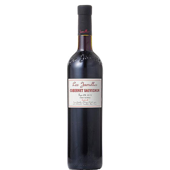 お酒 お中元 ギフト レ・ジャメル カベルネ・ソーヴィニヨン 赤 750ml 12本 フランス ラングドック・ルーション 赤ワイン コンビニ受取対応商品 ヴィンテージ管理しておりません、変わる場合があります ケース販売 プレゼント