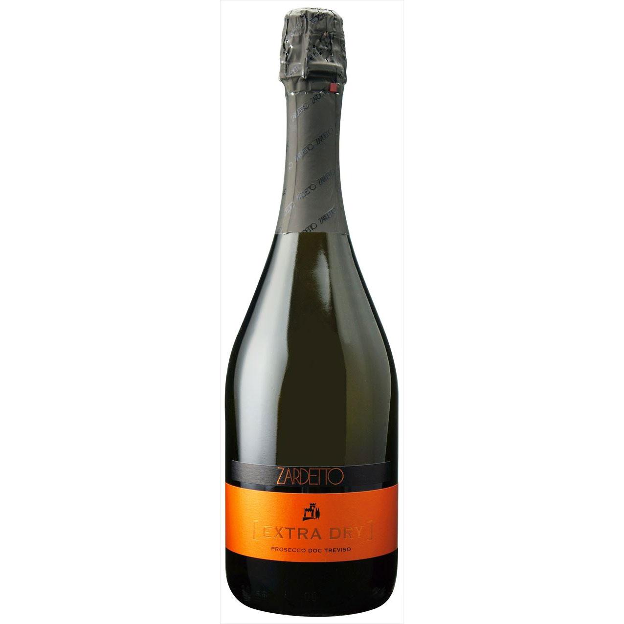 【ラッキーシール対応】お歳暮 ギフト プロセッコ トレヴィーゾ エクストラ ドライ  ザルデット 白 750ml 12本 イタリア ヴェネト 白ワイン 送料無料 コンビニ受取対応商品 ヴィンテージ管理しておりません、変わる場合があります