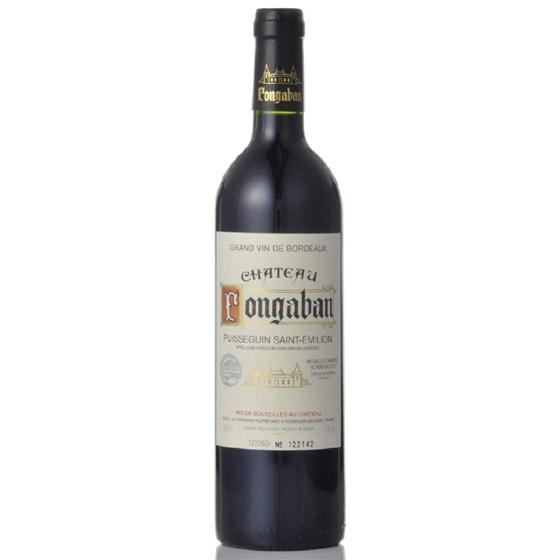 お中元 ギフト シャトー・フォンガバン / ピュイスガン・サンテミリオン 赤 750ml 12本 フランス ボルドー 赤ワイン コンビニ受取対応商品 はこぽす対応商品 ヴィンテージ管理しておりません、変わる場合があります ケース販売 送料無料