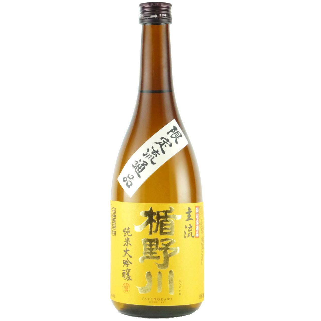 お歳暮 ギフト 楯野川 主流 純米大吟醸 720ml 12本 山形県 楯の川酒造 日本酒 ケース販売 送料無料 ラッキーシール対応
