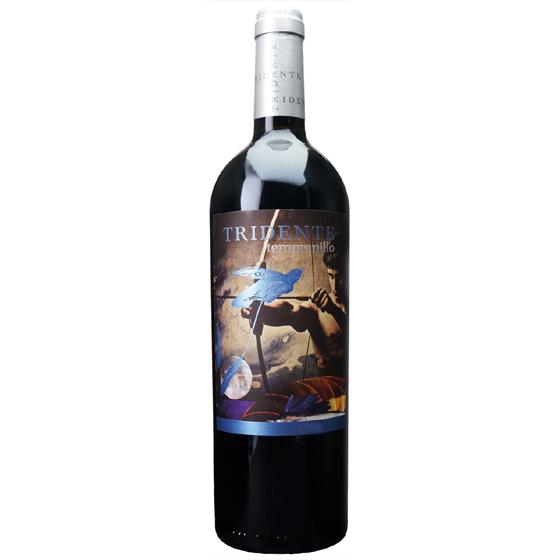 お酒 お中元 ギフト トリデンテ・テンプラニーリョ / ボデガス・トリデンテ 赤 750ml 12本 スペイン カスティーリャ・イ・レオン 赤ワイン ヴィンテージ管理しておりません、変わる場合があります プレゼント ケース販売 送料無料