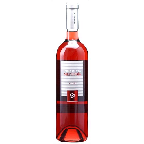 お酒 お中元 ギフト メディオディア ロサード / ボデガ・イヌリエータ ロゼ 750ml 12本 スペイン ナバラ ロゼワイン コンビニ受取対応商品 ヴィンテージ管理しておりません、変わる場合があります プレゼント ケース販売 送料無料