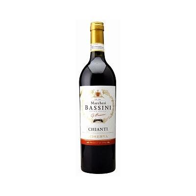 【ラッキーシール対応】母の日 ギフト キアンティ リゼルウ゛ァ マルケージ バッシーニ 赤 750ml 12本 イタリア トスカーナ 赤ワイン コンビニ受取対応商品 ヴィンテージ管理しておりません、変わる場合があります