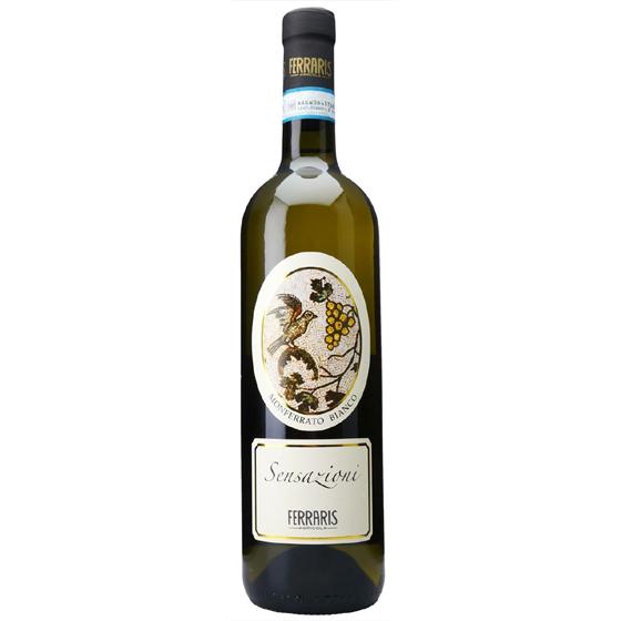 お酒 お中元 ギフト モンフェッラート・ビアンコ・センサツィオーニ / ルカ・フェラリス 白 750ml 12本 イタリア ピエモンテ 白ワイン コンビニ受取対応商品 ヴィンテージ管理しておりません、変わる場合があります プレゼント ケース販売 送料無料