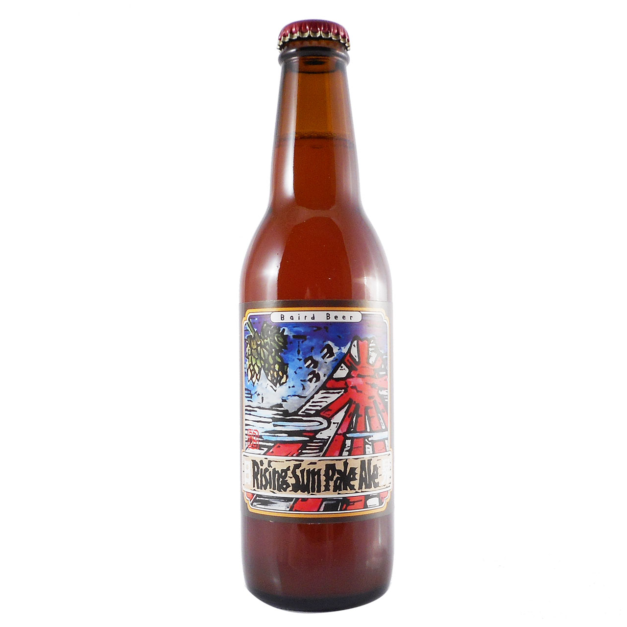 【ラッキーシール対応】母の日 ギフト ベアードビール ライジングサンペールエール 330ml 24本 静岡修善寺クラフトビールケース販売 送料無料 静岡県 ベアードブルーイング ビール 国産クラフトビール・地ビール