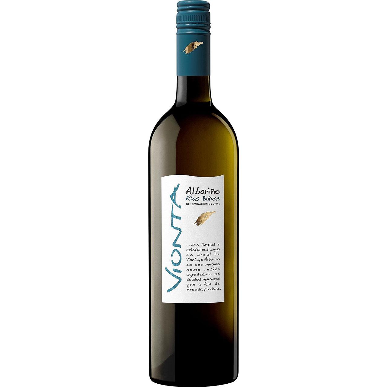 【ラッキーシール対応】母の日 ギフト ビオンタ アルバリーニョ 750ml 12本 ケース販売 スペイン 白ワイン 送料無料 ヴィンテージ管理しておりません、変わる場合があります
