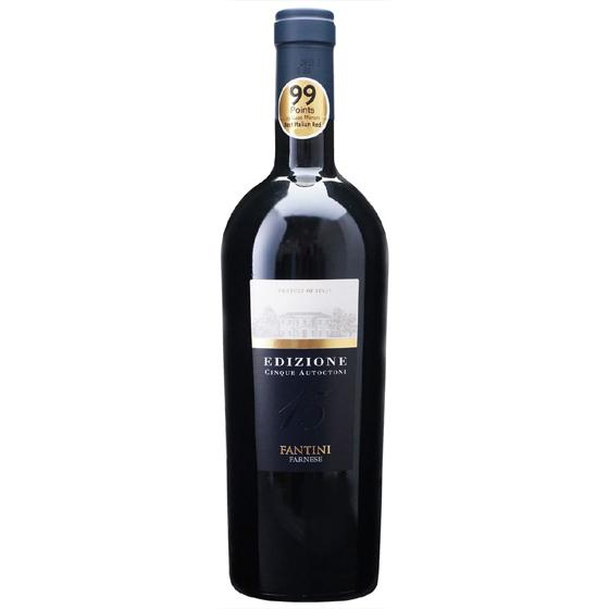 お酒 お中元 ギフト エディツィオーネ チンクエ・アウトークトニ / ファルネーゼ 赤 750ml 6本 イタリア アブルッツォ 赤ワイン コンビニ受取対応商品 ヴィンテージ管理しておりません、変わる場合があります プレゼント ケース販売 送料無料