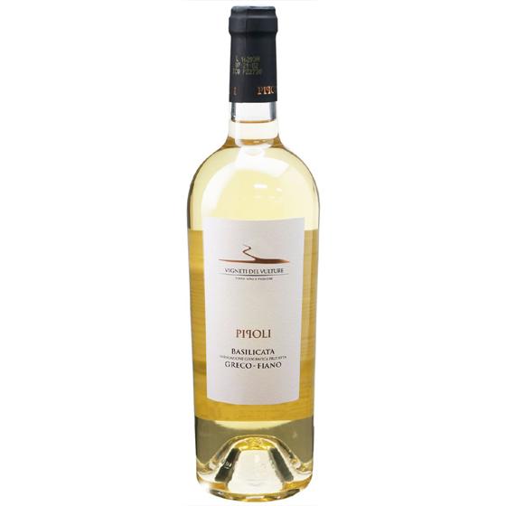 お中元 ギフト ピポリ・ビアンコ グレーコ・フィアーノ / ヴィニエティ・デル・ヴルトゥーレ 白 750ml 12本 イタリア バジリカータ 白ワイン コンビニ受取対応商品 ヴィンテージ管理しておりません、変わる場合があります ケース販売 送料無料