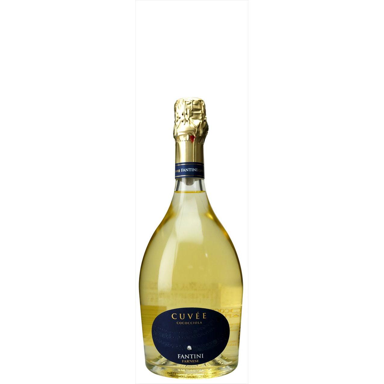 【ラッキーシール対応】母の日 ギフト ファンティーニ スプマンテ キュヴェ ココッチオーラ ファルネーゼ 白 750ml 6本 イタリア アブルッツォ 白ワイン コンビニ受取対応商品 ヴィンテージ管理しておりません、変わる場合があります