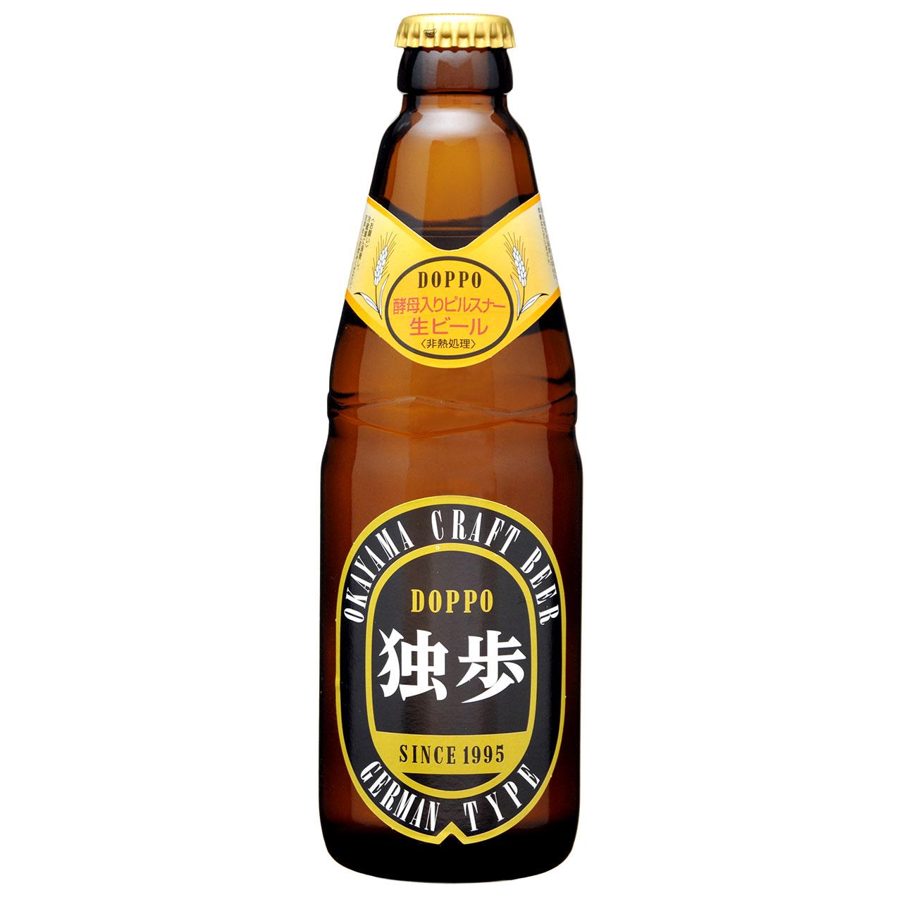 お酒 お中元 ギフト 独歩ビール ピルスナー 330ml 24本 岡山県 宮下酒造 クラフトビール ケース販売 クール便 プレゼント