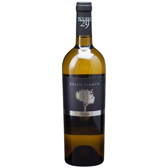 お酒 お中元 ギフト ジェルソ・ビアンコ / ポデーレ29 白 750ml 12本 イタリア プーリア 白ワイン コンビニ受取対応商品 ヴィンテージ管理しておりません、変わる場合があります プレゼント ケース販売 送料無料