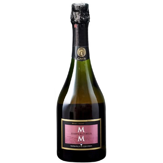 お酒 お中元 ギフト カバ・レセルバ・デ・ラ・ファミリア・ブルット・ロゼ / マス・デ・モニストロル ロゼ 750ml 12本 スペイン カバ スパークリングワイン ヴィンテージ管理しておりません、変わる場合があります ケース販売 送料無料