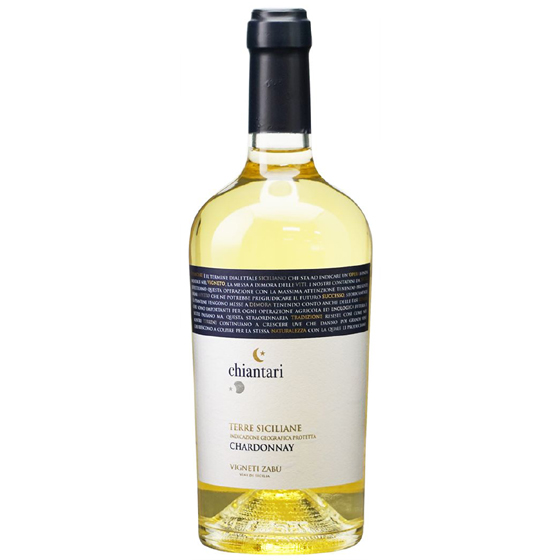 お酒 お中元 ギフト キアンタリ シャルドネ / ヴィニエティ・ザブ 白 750ml 12本 イタリア シチリア 白ワイン コンビニ受取対応商品 ヴィンテージ管理しておりません、変わる場合があります プレゼント ケース販売 送料無料