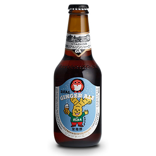 父の日 プレゼント ギフト 常陸野ネストビール リアルジンジャーエール 330ml×24本 茨城県 木内酒造 ビール 国産クラフトビール・地ビール ケース販売 楽ギフ_のし ラッキーシール対応