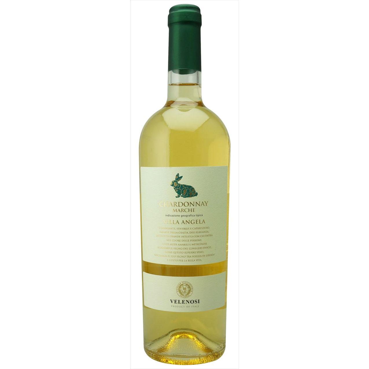【ラッキーシール対応】母の日 ギフト ヴィッラ アンジェラ シャルドネ ヴェレノージ 白 750ml 12本 イタリア マルケ 白ワイン 送料無料 コンビニ受取対応商品 ヴィンテージ管理しておりません、変わる場合があります