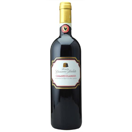 お歳暮 ギフト キアンティ・クラシコ / カズッチョ・タルレッティ 赤 750ml 12本 イタリア トスカーナ 赤ワイン コンビニ受取対応商品 ヴィンテージ管理しておりません、変わる場合があります ラッキーシール対応 ケース販売 送料無料