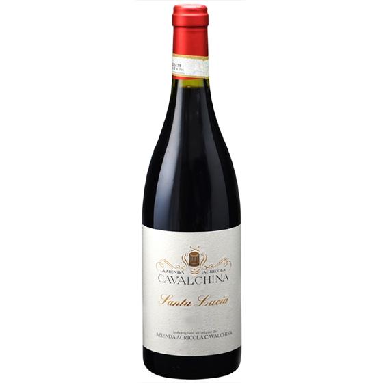 お酒 お中元 ギフト バルドリーノ スペリオーレ サンタ・ルチア / カヴァルキーナ 赤 750ml 12本 イタリア ヴェネト 赤ワイン ヴィンテージ管理しておりません、変わる場合あり プレゼント ケース販売 送料無料
