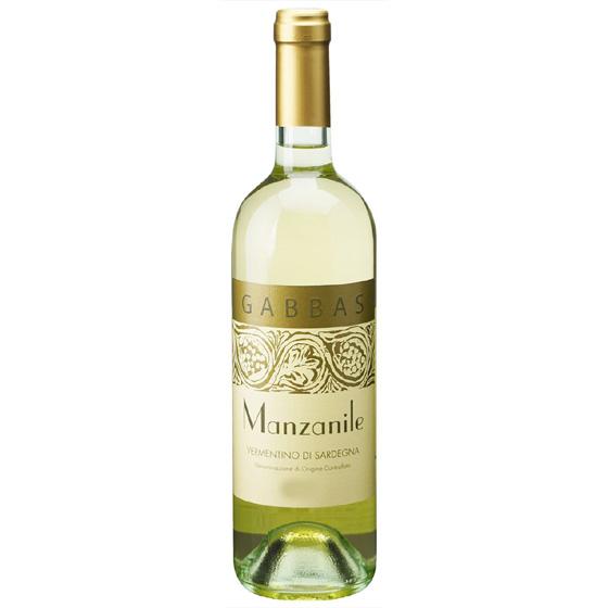 お酒 お中元 ギフト マンザニーレ / ジュゼッペ・ガッバス 白 750ml 12本 イタリア サルデーニャ 白ワイン コンビニ受取対応商品 ヴィンテージ管理しておりません、変わる場合があります プレゼント ケース販売 送料無料