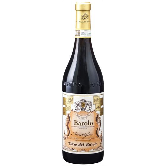 お酒 父の日 ギフト バローロ モンヴィリエーロ / テッレ・デル・バローロ 赤 750ml 12本 イタリア ピエモンテ 赤ワイン コンビニ受取対応商品 ヴィンテージ管理しておりません、変わる場合があります プレゼント ケース販売 送料無料
