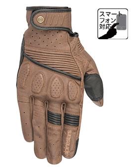 アルパインスターズ CRAZY EIGHT GLOVE BROWN BLACK Mサイズ (022185)