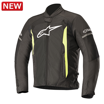 アルパインスターズ T-FASTER AIR JACKET BLACK YELLOW FLUO XLサイズ (028668)