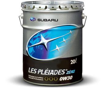 スバル エンジンオイル レ・プレイアードZERO 0W-30 20Lペール缶 トタル・ルプリカンツ・ジャパン K0226Y0020