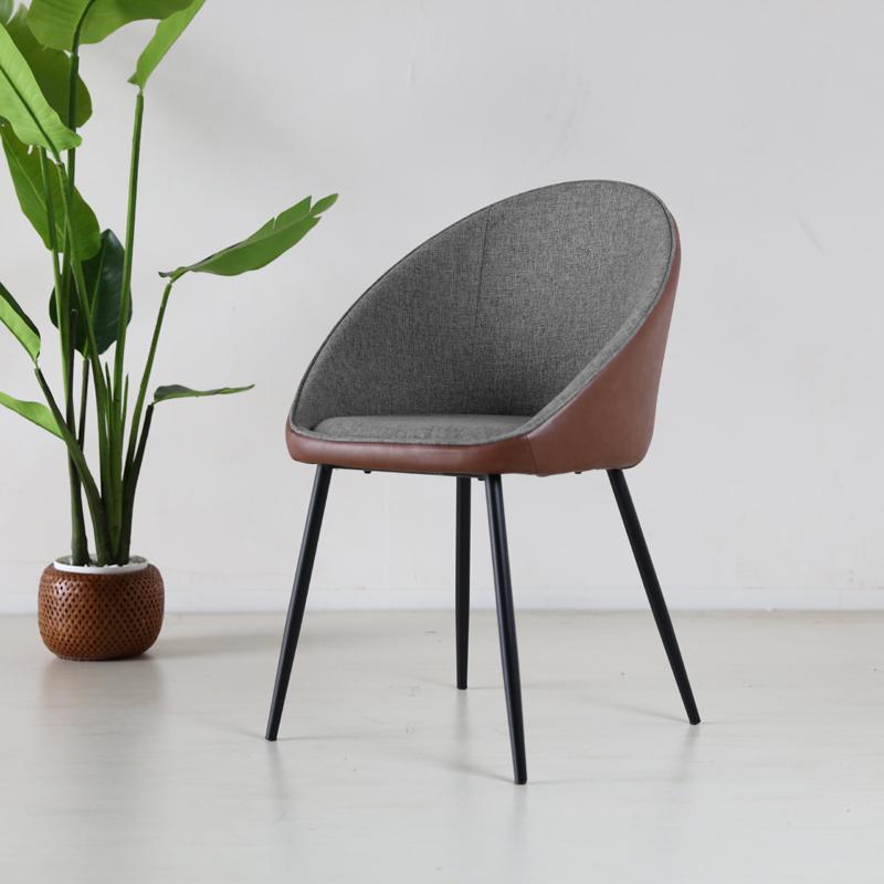 商品名| CCP ダイニングチェア材 料| スチール/ソフトレザー(ブラウン色)サイズ|幅56×奥行50×高さ79/座面高46cm組立式 北欧テイスト モダン 食卓椅子おしゃれ ダイニング 椅子 レザー 食卓イス
