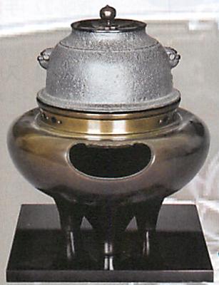 唐胴朝鮮風炉電気炭セット