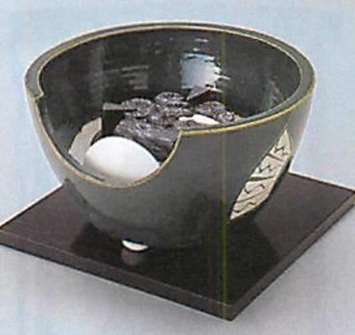 ヤマキ製電熱式紅鉢織部