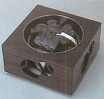 ヤマキ製電熱式箱風炉