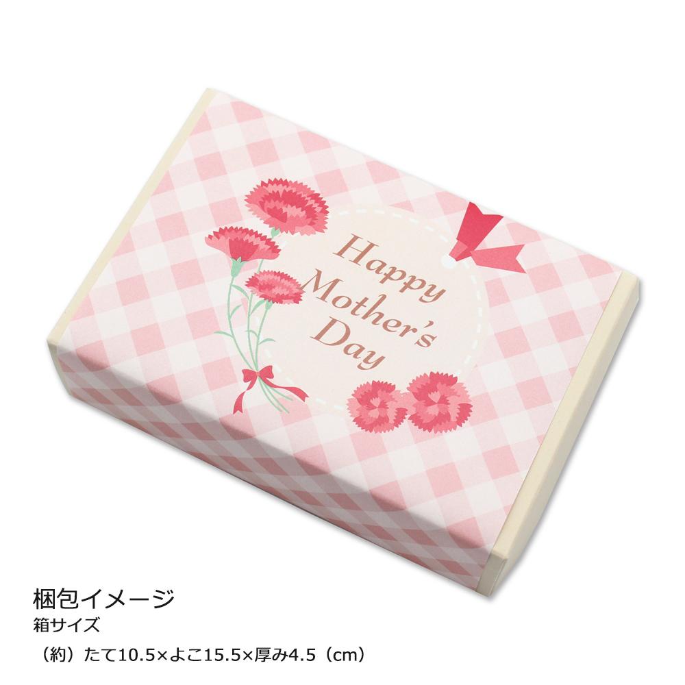母の日ギフト 花 スイーツ生花プチカーネーション花束と小さなケーキ屋さんのプチスイーツ5種セット。母の日カード付