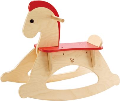 ドイツの木製玩具メーカーHape(ハペ)の製品  ロッキングホース プレゼントに♪【木のおもちゃ】
