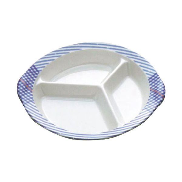 介護・高齢者・障がい者用食器 ファインブルー 食器4点セット 木の実/