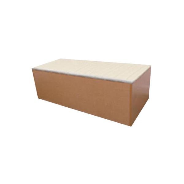 樹脂畳ユニットボックス(ハイタイプ) (介護用品 老人 高齢者 シニア お年寄り 施設用品 デイサービスデイケア 病院医院 老人ホーム)