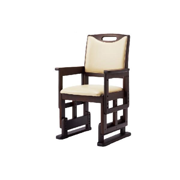高さ調節チェア (介護用品 福祉用具 椅子 イス いす 立ち上がり 老人 おしゃれ チェア 和室 お年寄り 便利グッズ )