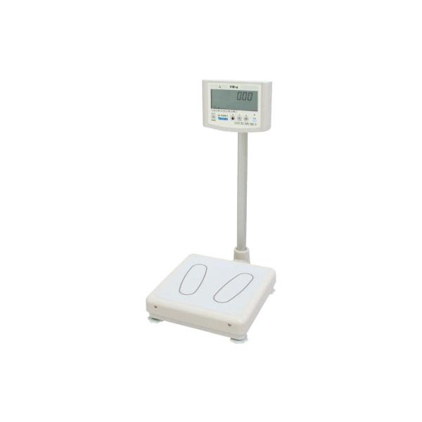 デジタル体重計(検定品) (介護用品 老人 高齢者 シニア お年寄り 施設用品 デイサービスデイケア 病院医院 老人ホーム)