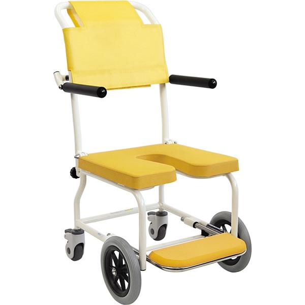 入浴用車椅子KSC-2 カワムラサイクル  車いす 送料無料  入浴 介護用品 入浴用品 お風呂用品 シャワーキャリー【母の日 プレゼント 実用的 花以外】