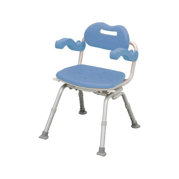 介護用 風呂椅子 シャワーチェア[ユクリア]ミドルSP回転おりたたみ( 母の日 プレゼント 2019 )