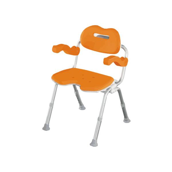 介護用 風呂椅子 シャワーチェア[ユクリア]ワイドSPワンタッチおりたたみ U型(シャワーチェア バスチェアー 介護用風呂椅子 シャワーベンチ 介護用品  高齢者用 老人用  )